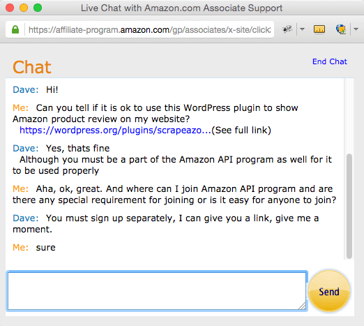 amazon-support-chat-scrapeazon