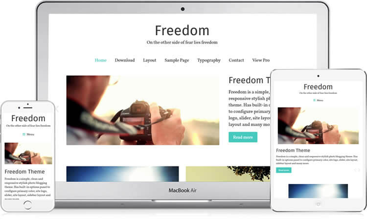 freedom-theme-screenshot