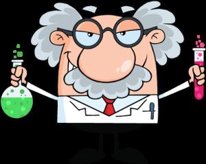 niche-professor-experimenting